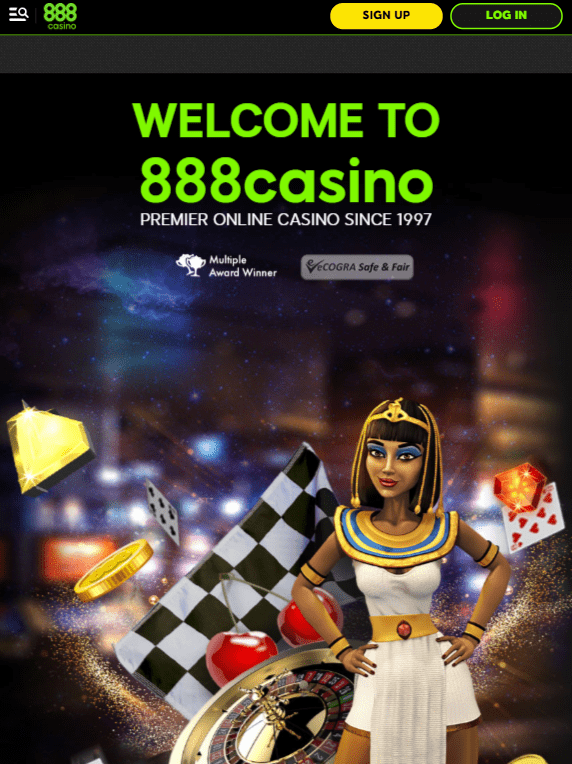 888Casino iOS & Android tablets