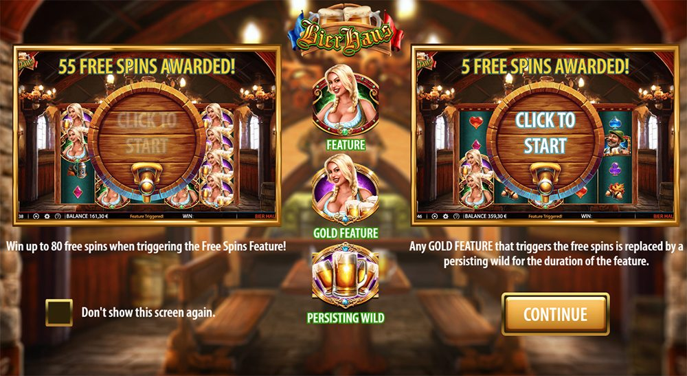 Bier Haus Slot Game Symbols and Winning Combinations