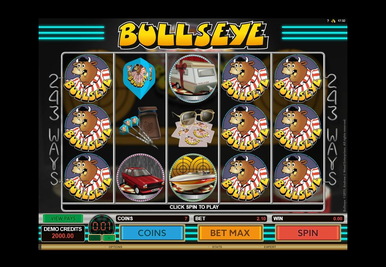 BullsEye Slot Machine - How to Play