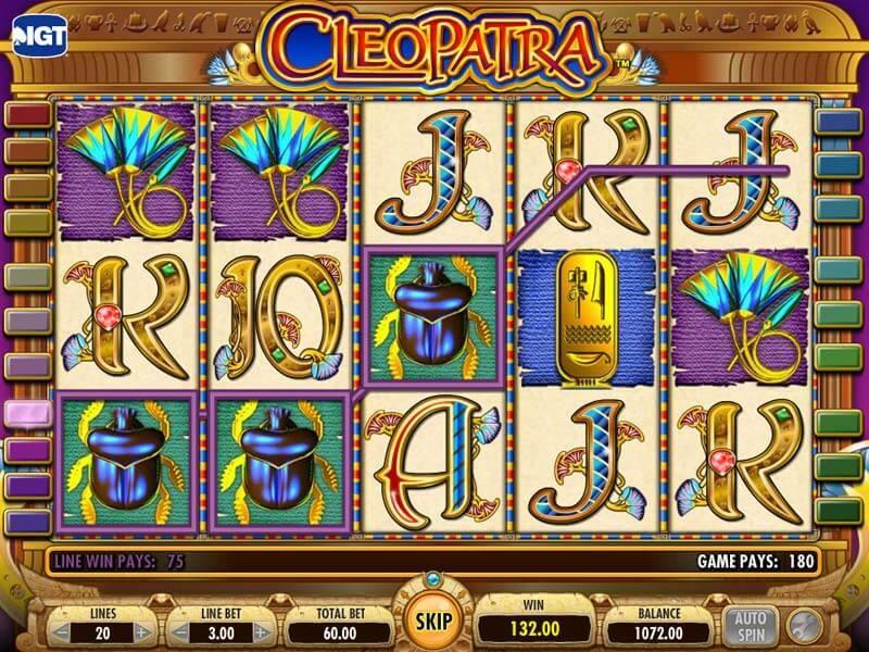 Cleopatra Slot Machine - How to Play