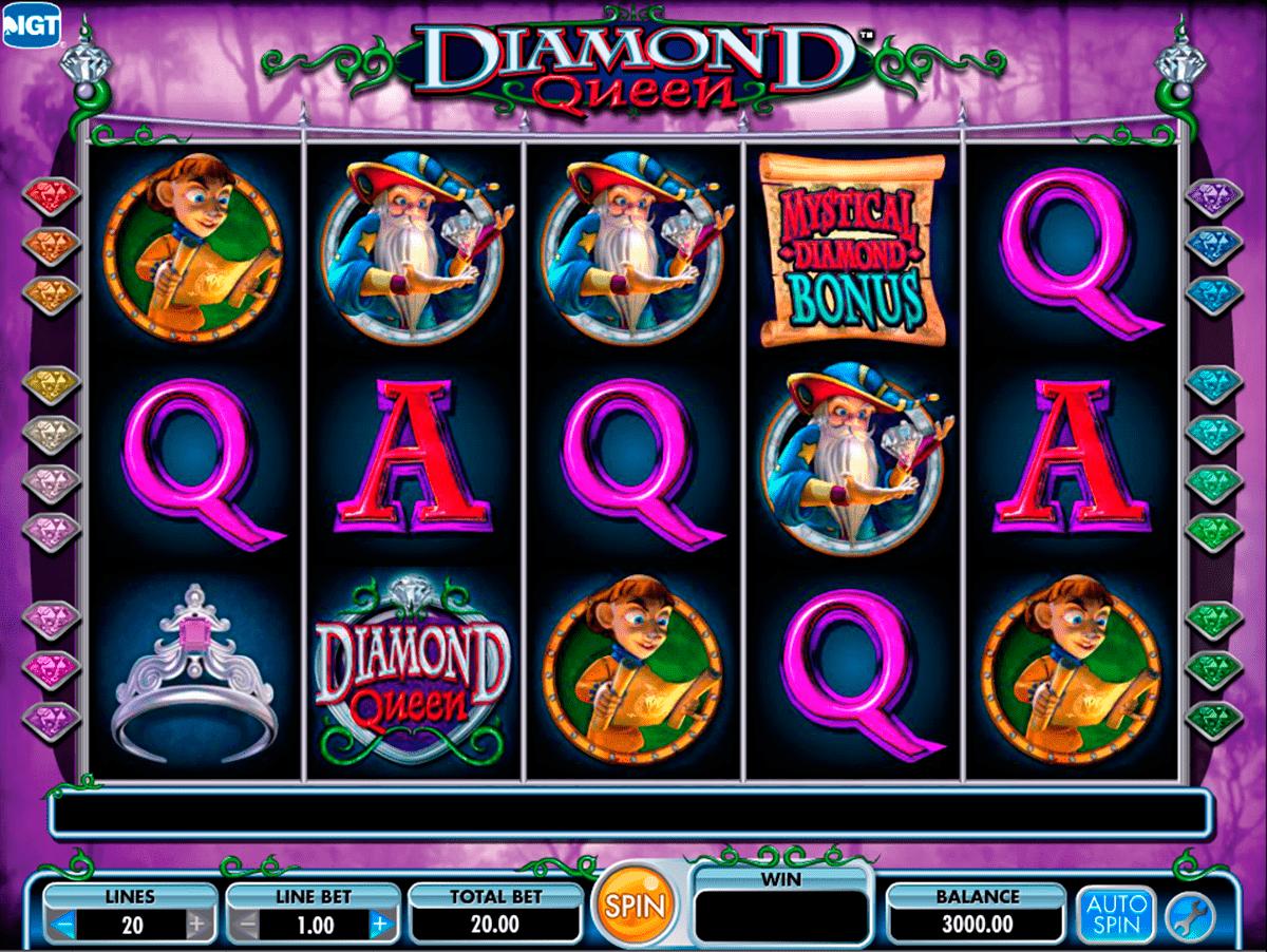 Diamond Queen Slot Machine - How to Play