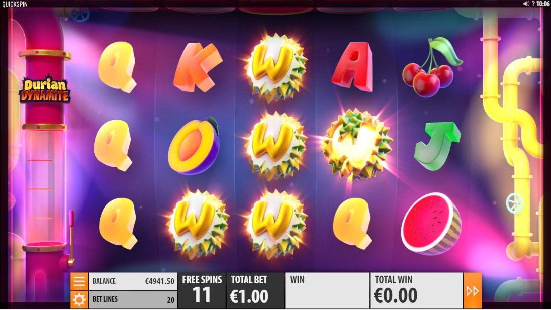 Durian Dynamite Slot Machine - How to Play