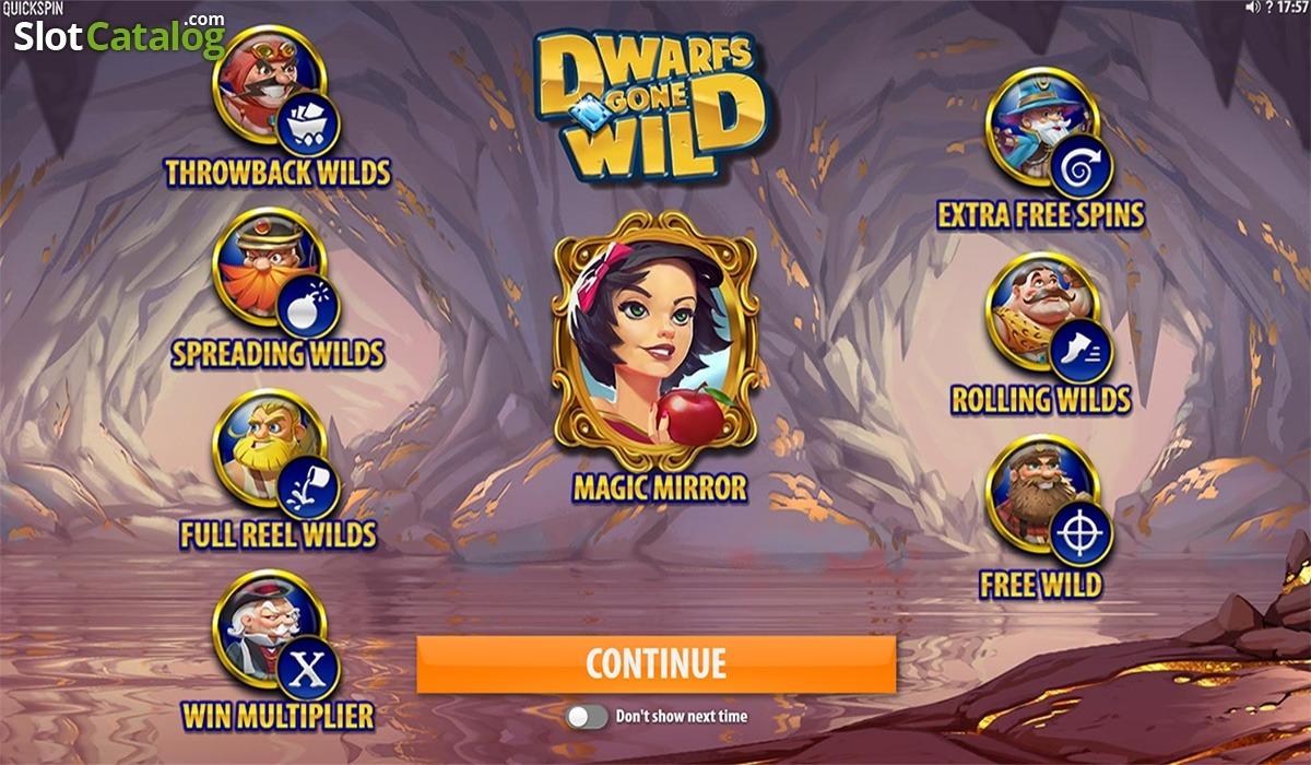 Dwarfs Gone Wild Slot Game Symbols and Winning Combinations