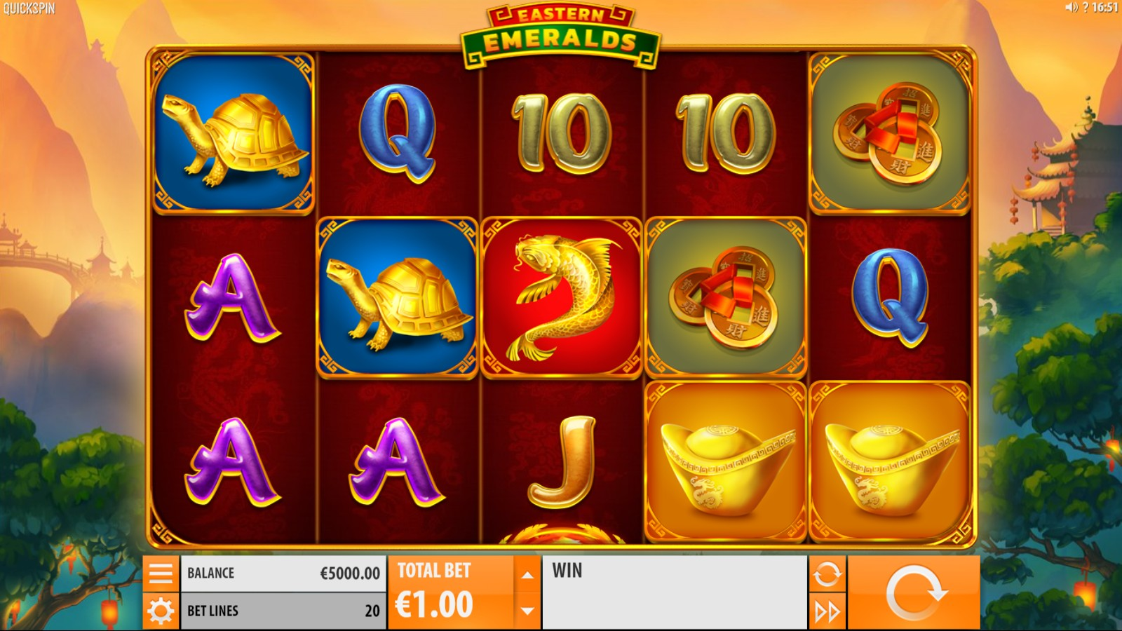 Eastern Emeralds Slot Game Symbols and Winning Combinations