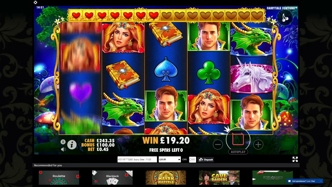 Fairytale Fortune Slot Machine - How to Play
