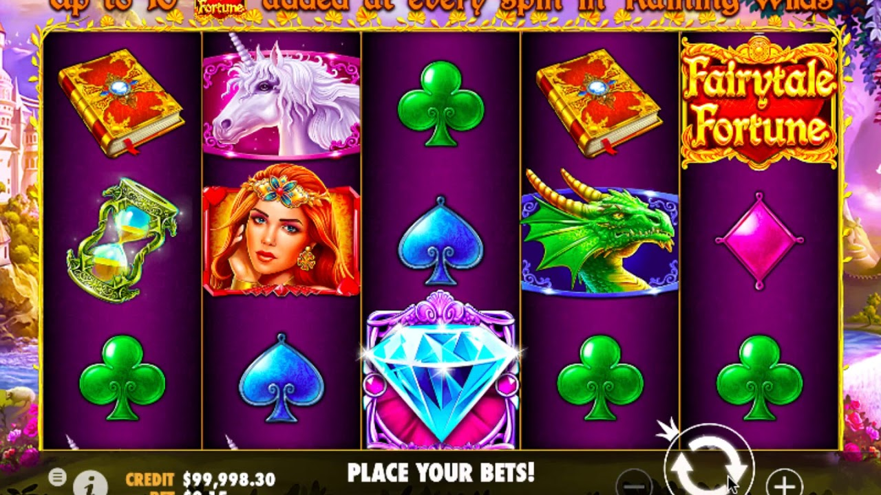 Fairytale Fortune Slot Game Symbols and Winning Combinations
