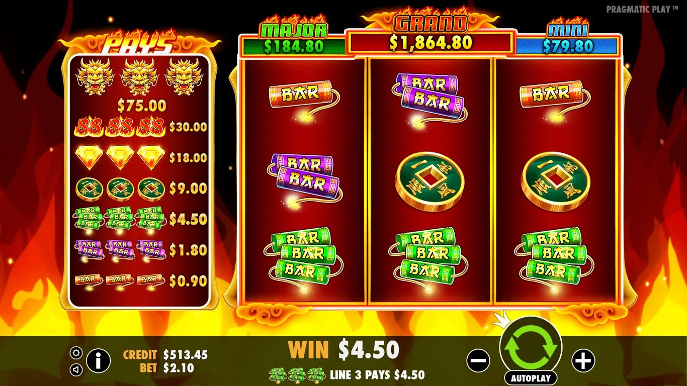 Fire 88 Slot Machine - How to Play