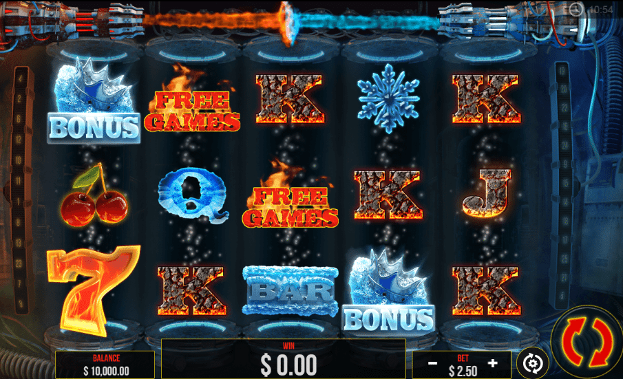 Ice and Fire Slot Machine - How to Play