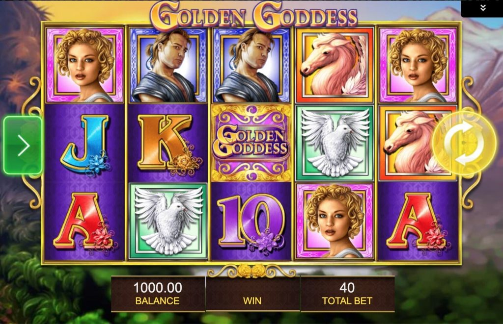 Golden Goddess Slot Machine - How to Play