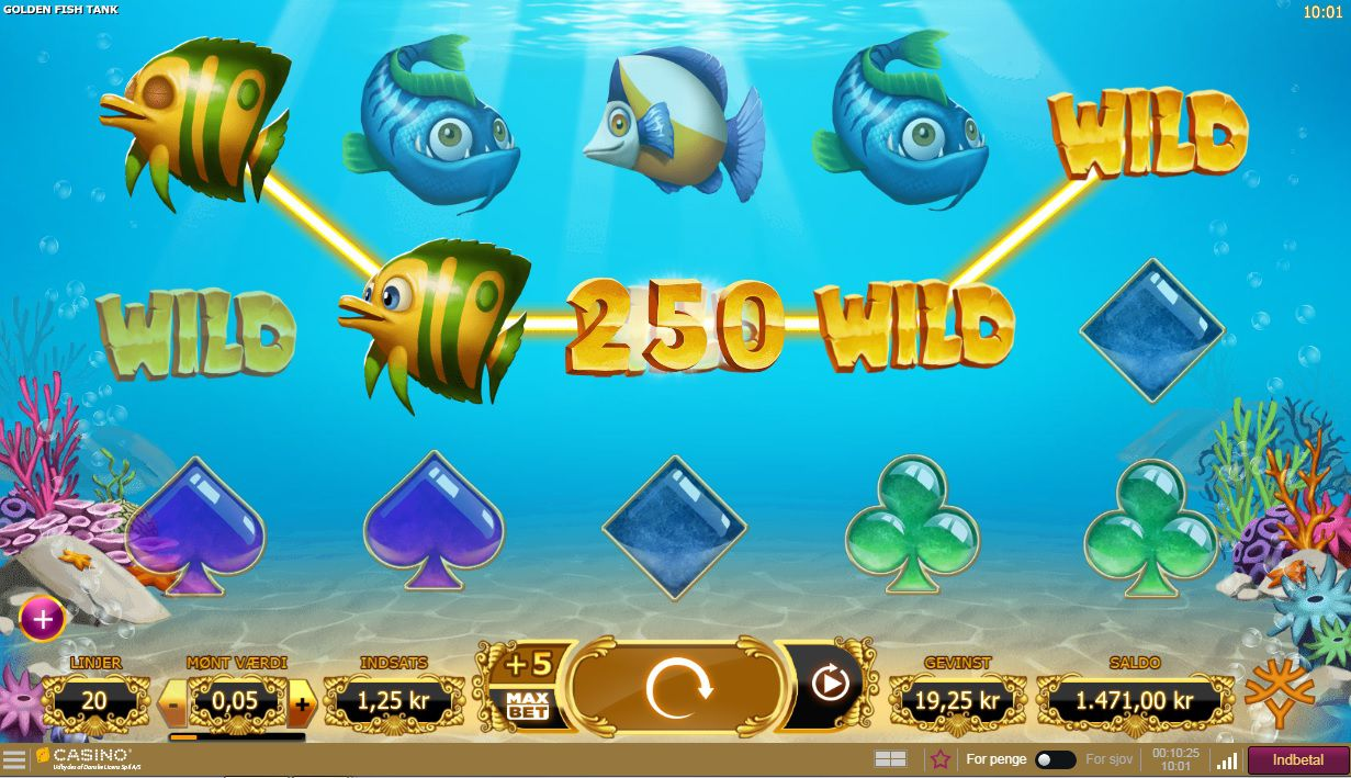 Golden Fish Tank Slot Machine - How to Play