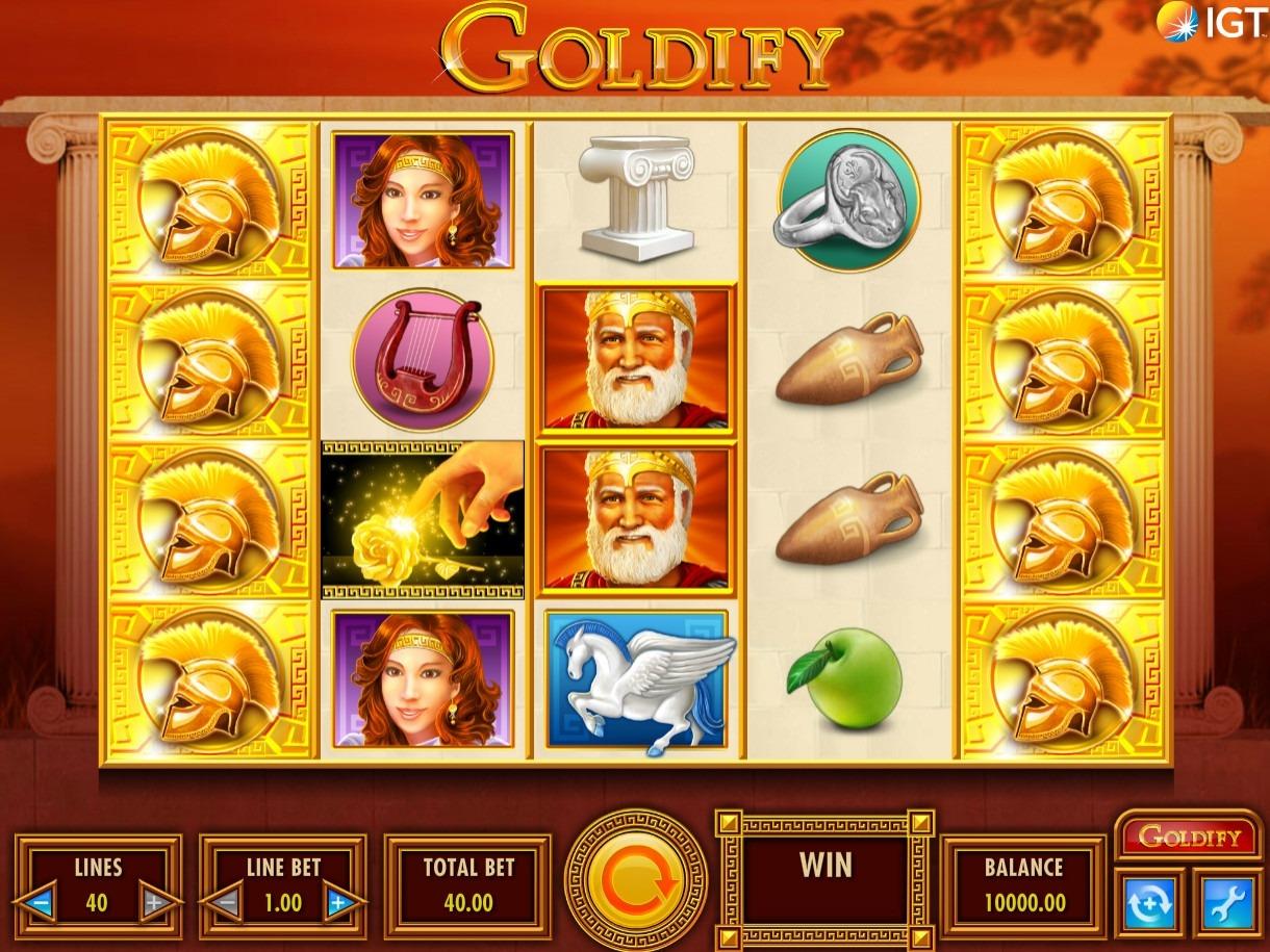 Goldify Slot Game Symbols and Winning Combinations