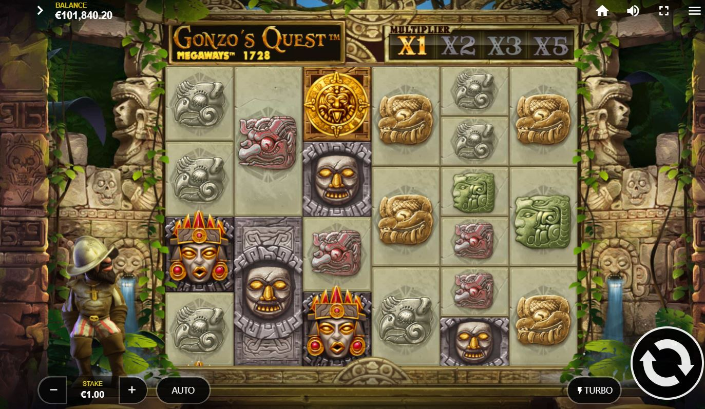 Gonzo's Quest Slot Machine - How to Play