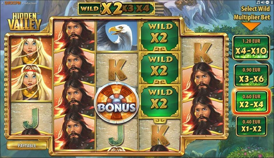 Hidden Valley Slot Machine - How to Play