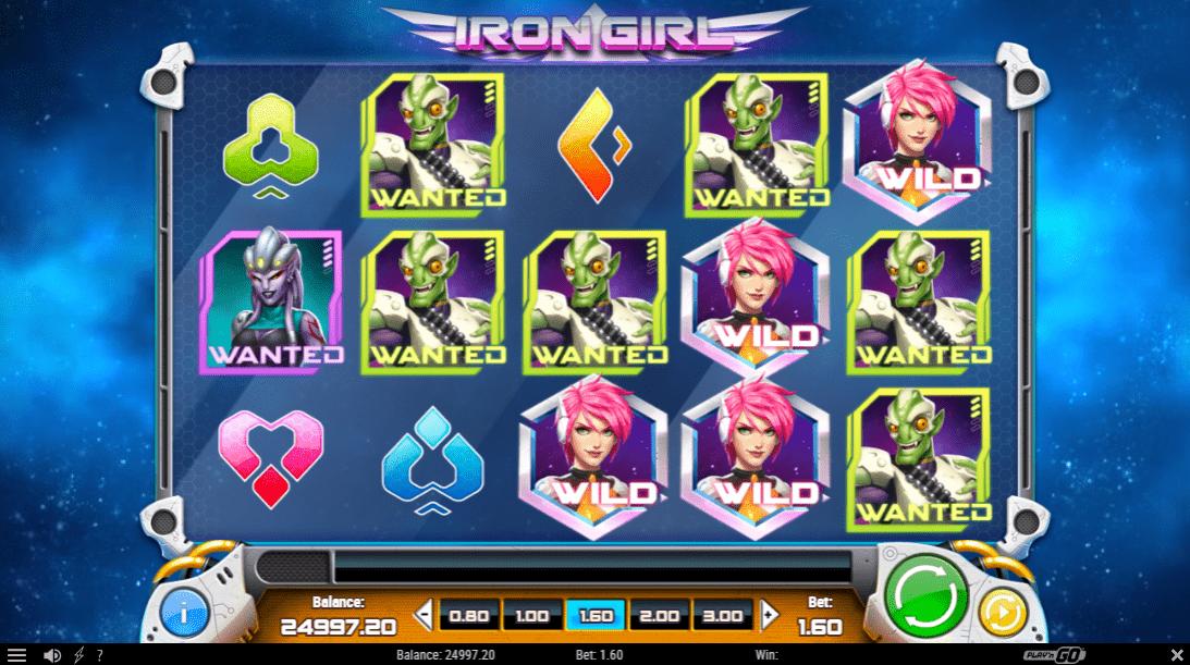 Iron Girl Slot Machine - How to Play
