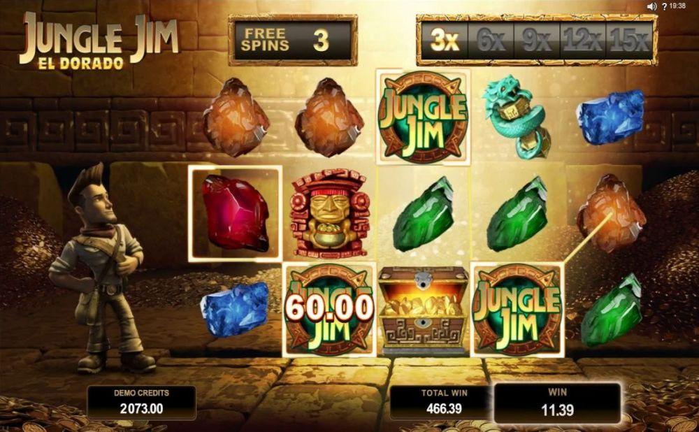 Jungle Jim - El Dorado Slot Machine - How to Play