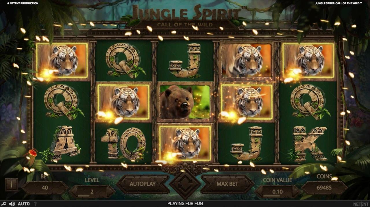 Jungle Spirit Call of the Wild Slot Machine - How to Play