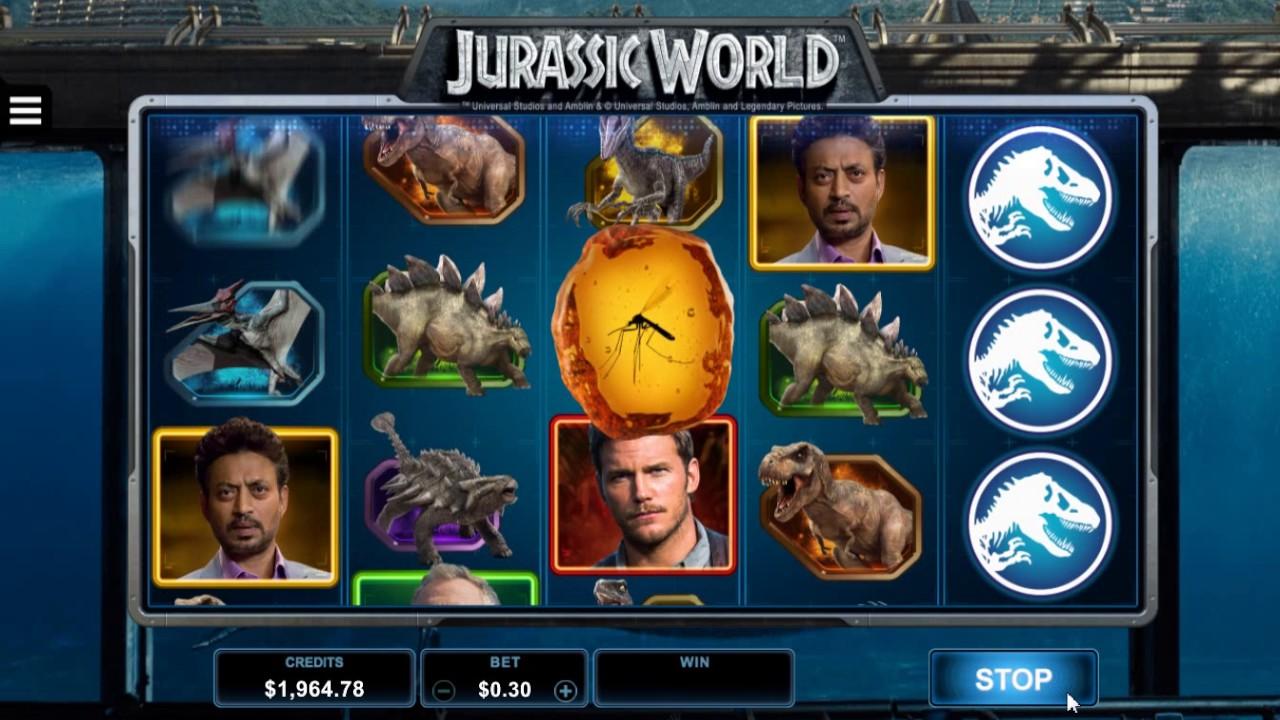 Jurassic World Slot Game Symbols and Winning Combinations
