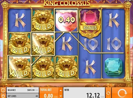King Colossus Slot Machine - How to Play
