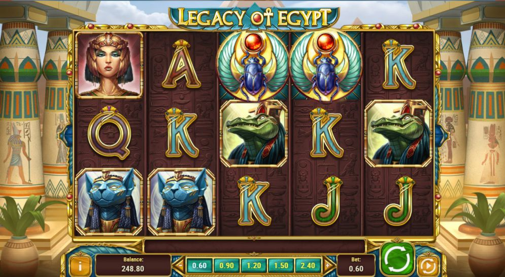 Legacy of Egypt Slot Machine - How to Play
