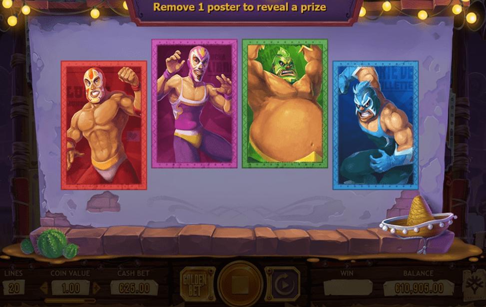 Lucha Maniacs Slot Game Symbols and Winning Combinations