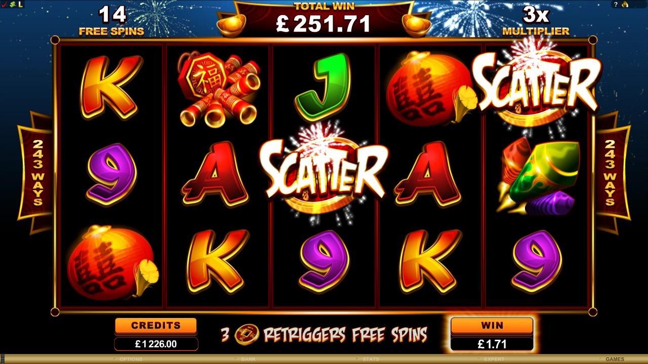 Lucky Firecracker Slot Machine - How to Play