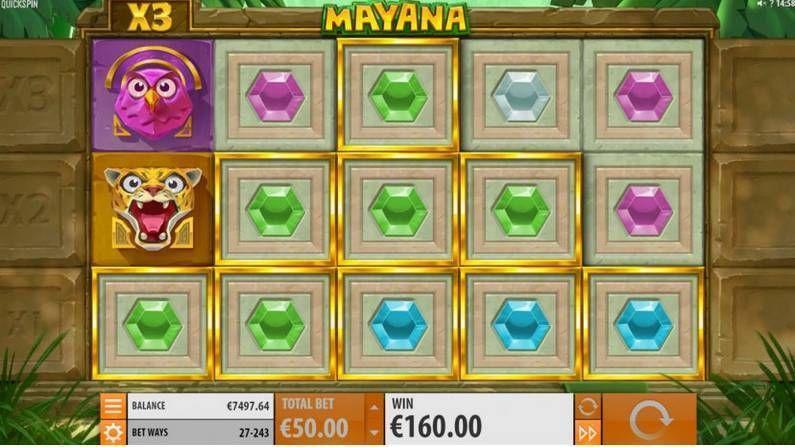Mayana Slot Machine - How to Play