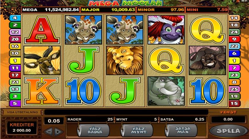 Mega Moolah Slot Machine - How to Play