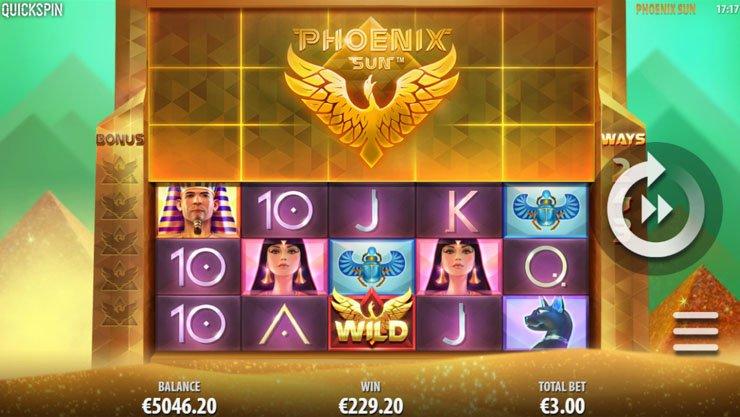 Phoenix Sun Slot Game Symbols and Winning Combinations