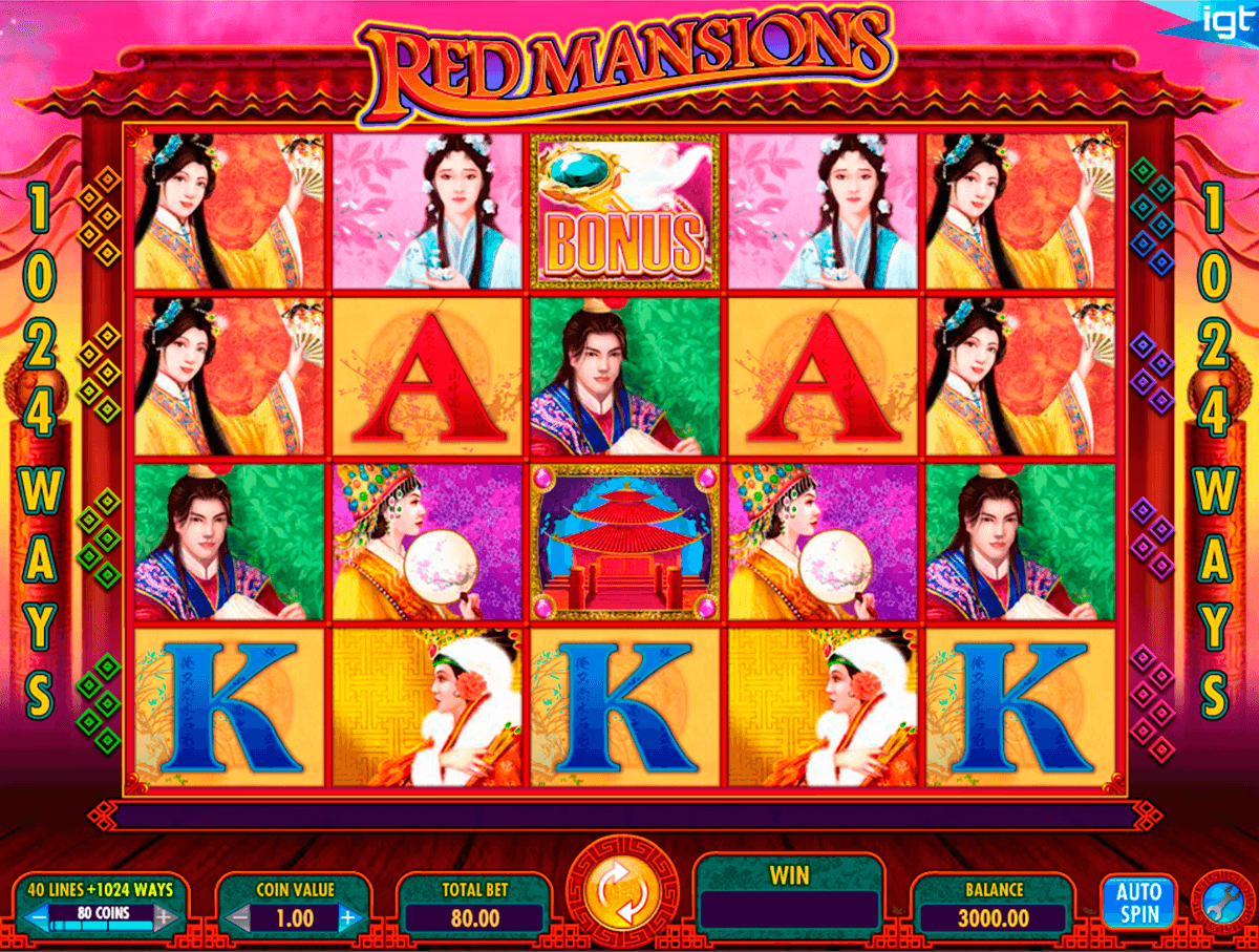Red Mansions Slot Machine - How to Play