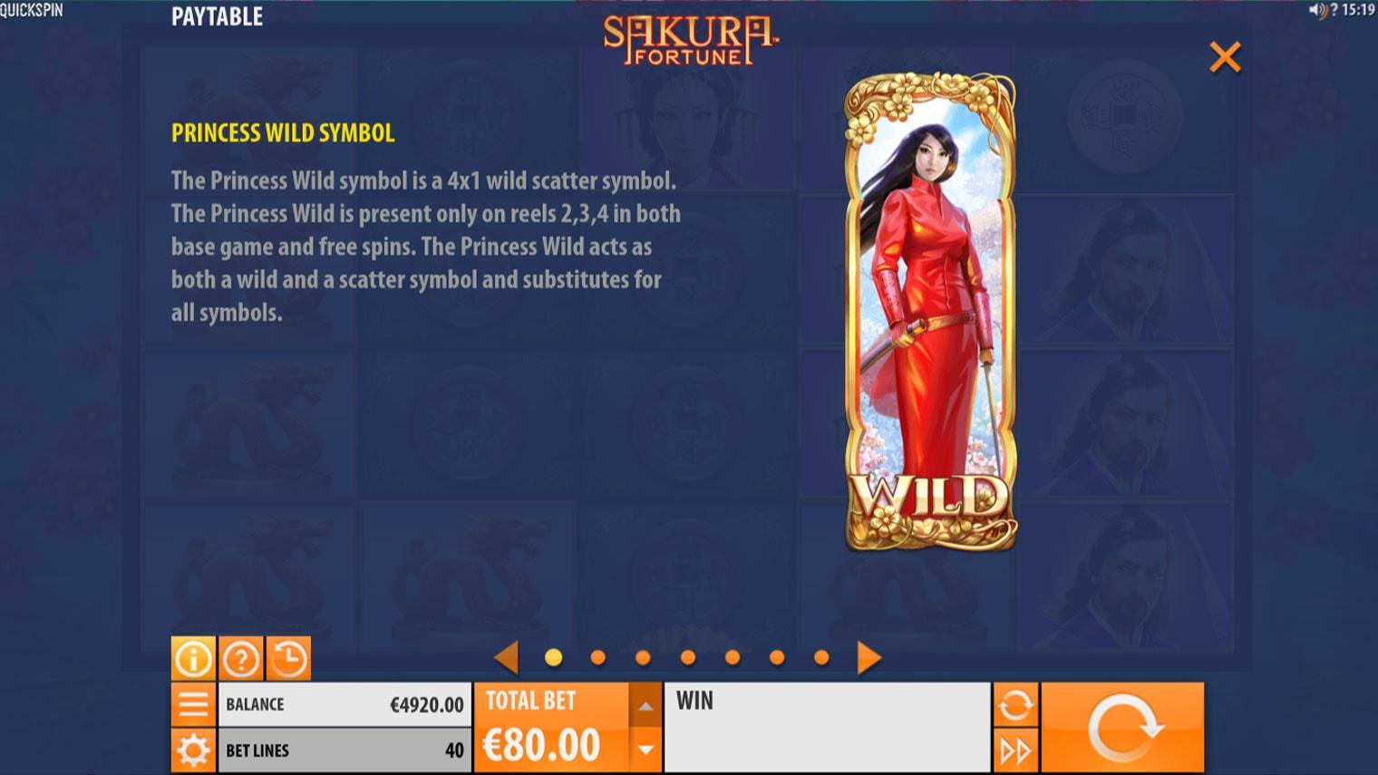 Sakura Fortune Slot Game Symbols and Winning Combinations