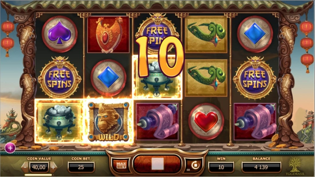 The Legend of The Golden Monkey Slot Machine - How to Play