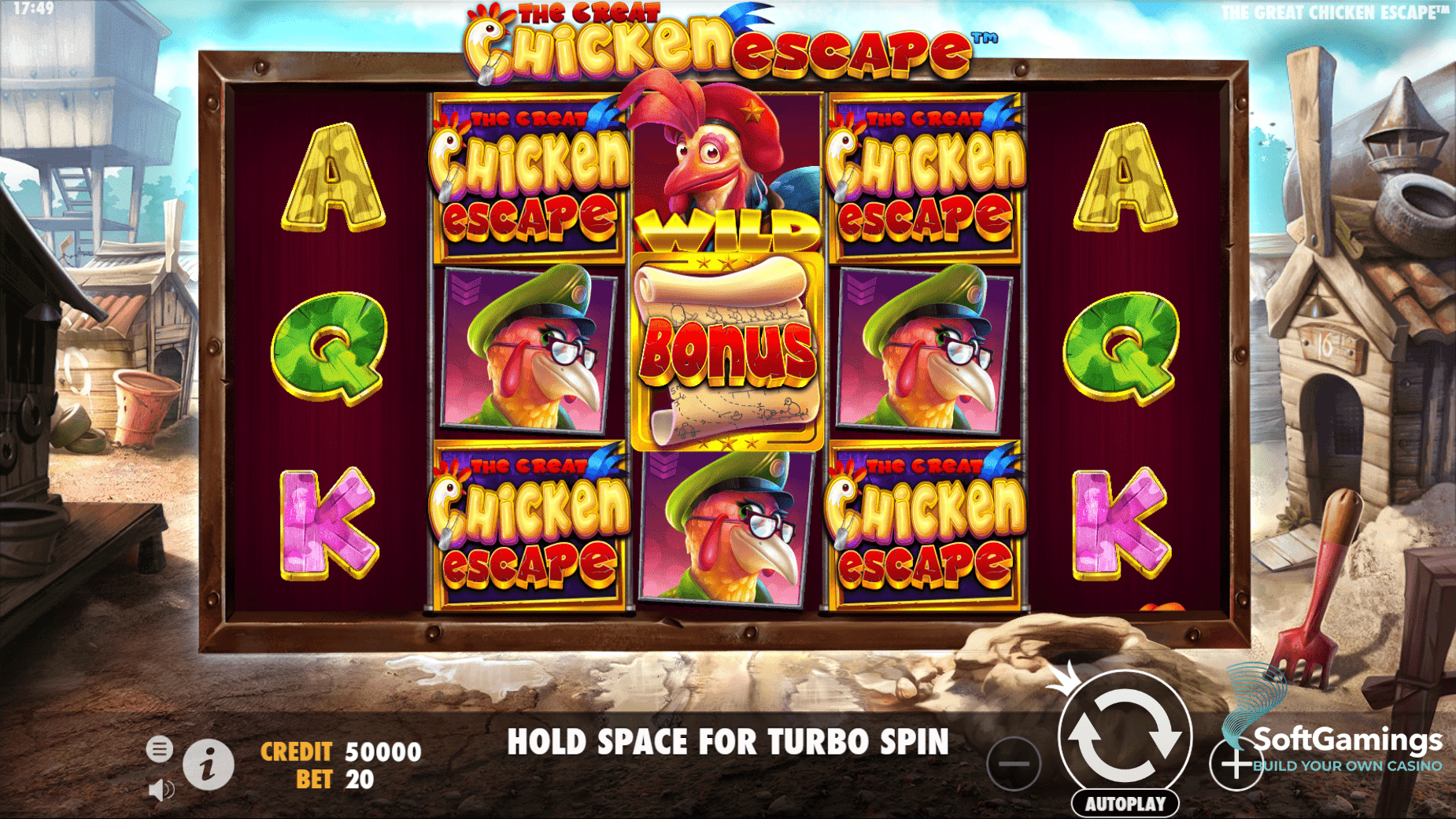 The Great Chicken Escape Slot Machine - How to Play