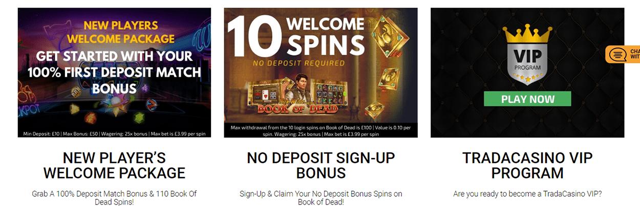 trada bonus