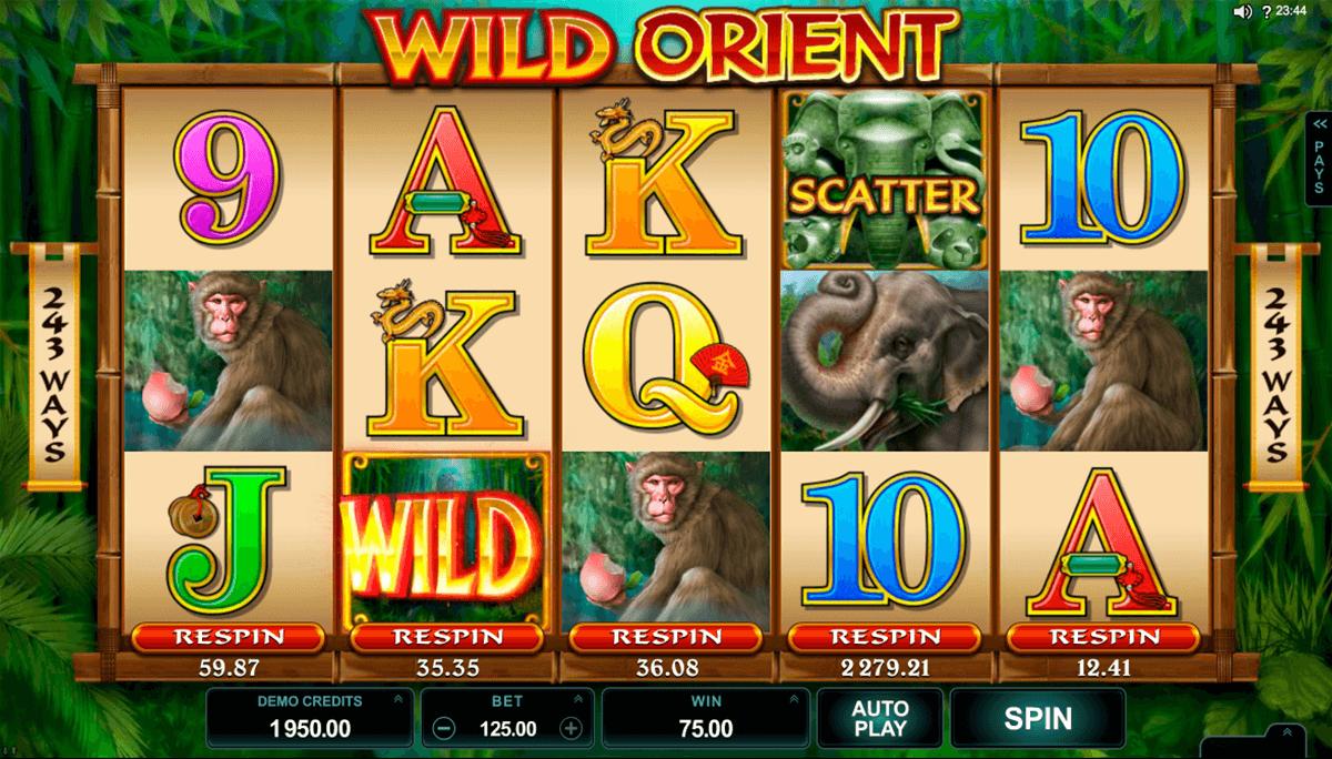 Wild Orient Slot Machine - How to Play