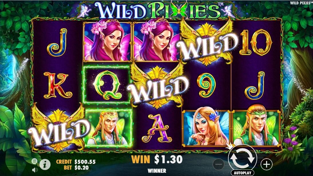 Wild Pixies Slot Machine - How to Play